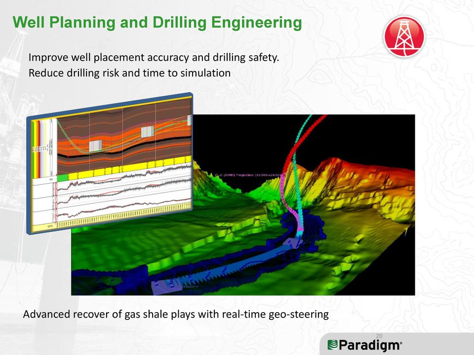 Reduce drilling risk and time to simulation