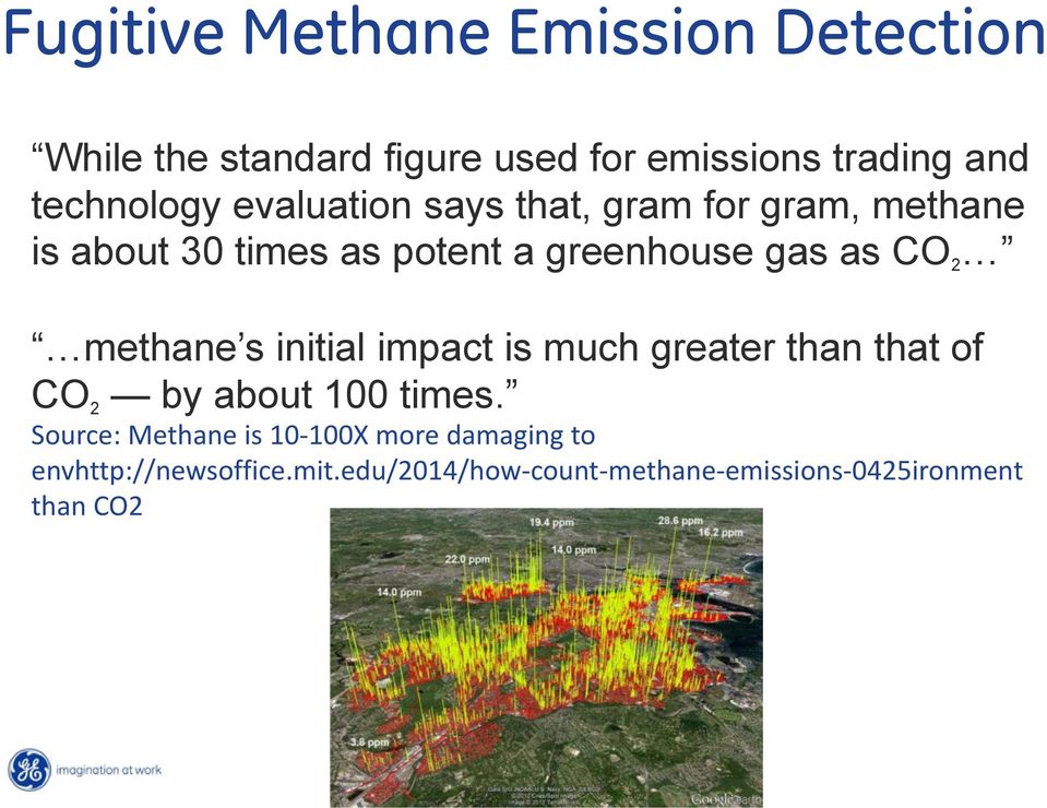 as CO 2 methane s initial impact is much greater than that of CO 2 by about 100 times.