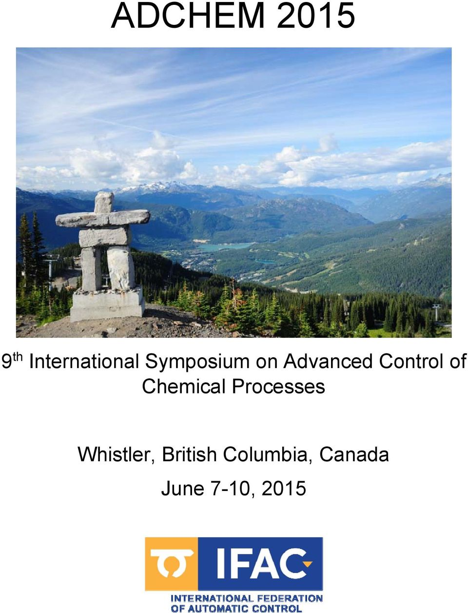 Chemical Processes Whistler,