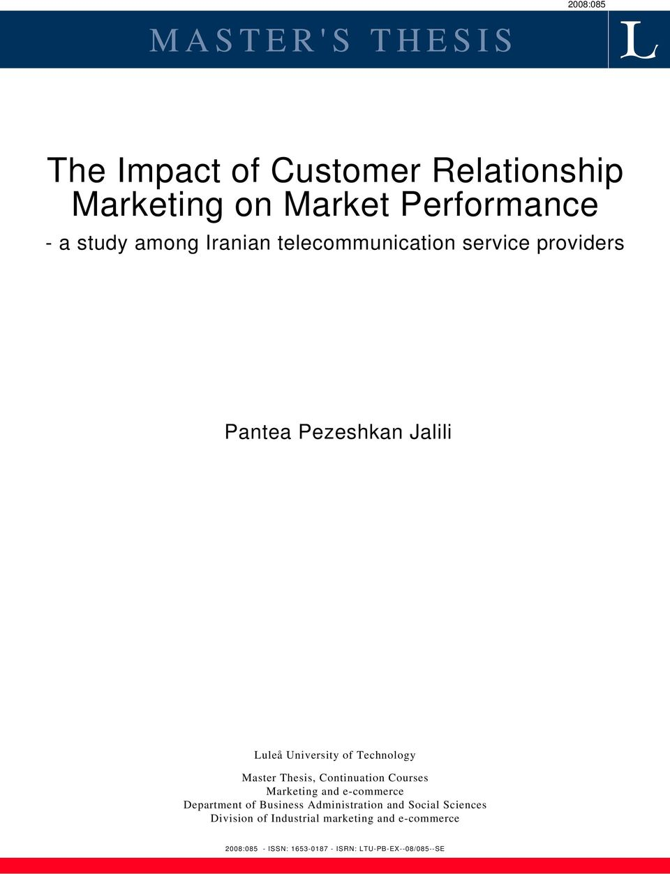 Dissertation Report On Direct Marketing