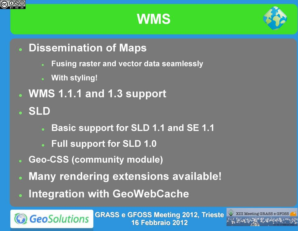3 support SLD Basic support for SLD 1.1 and SE 1.