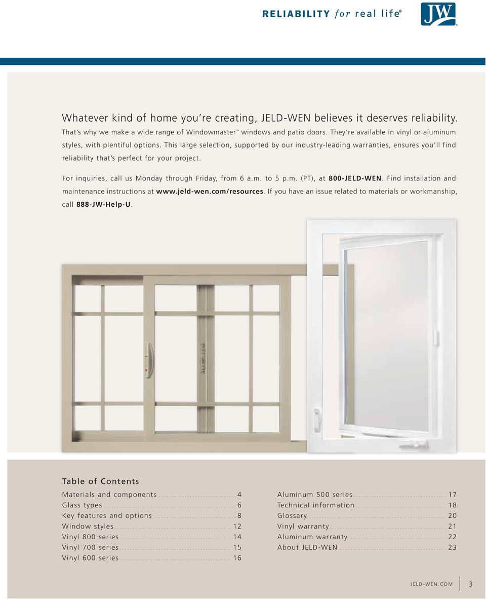Aluminum Windows And Doors Training Pdf : Jeld wen patio doors installation instructions