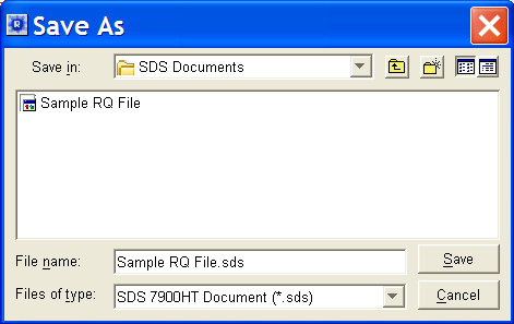 Select File > Save As to open the Save As dialog box. 2. In the Save In field, navigate to and select a directory to save the plate document. 4 3.