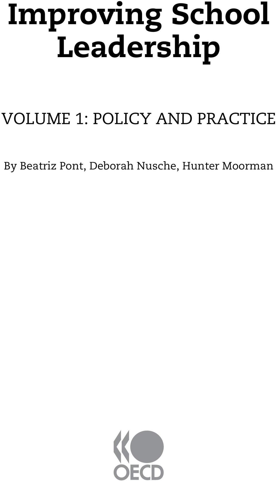 POLICY AND PRACTICE By