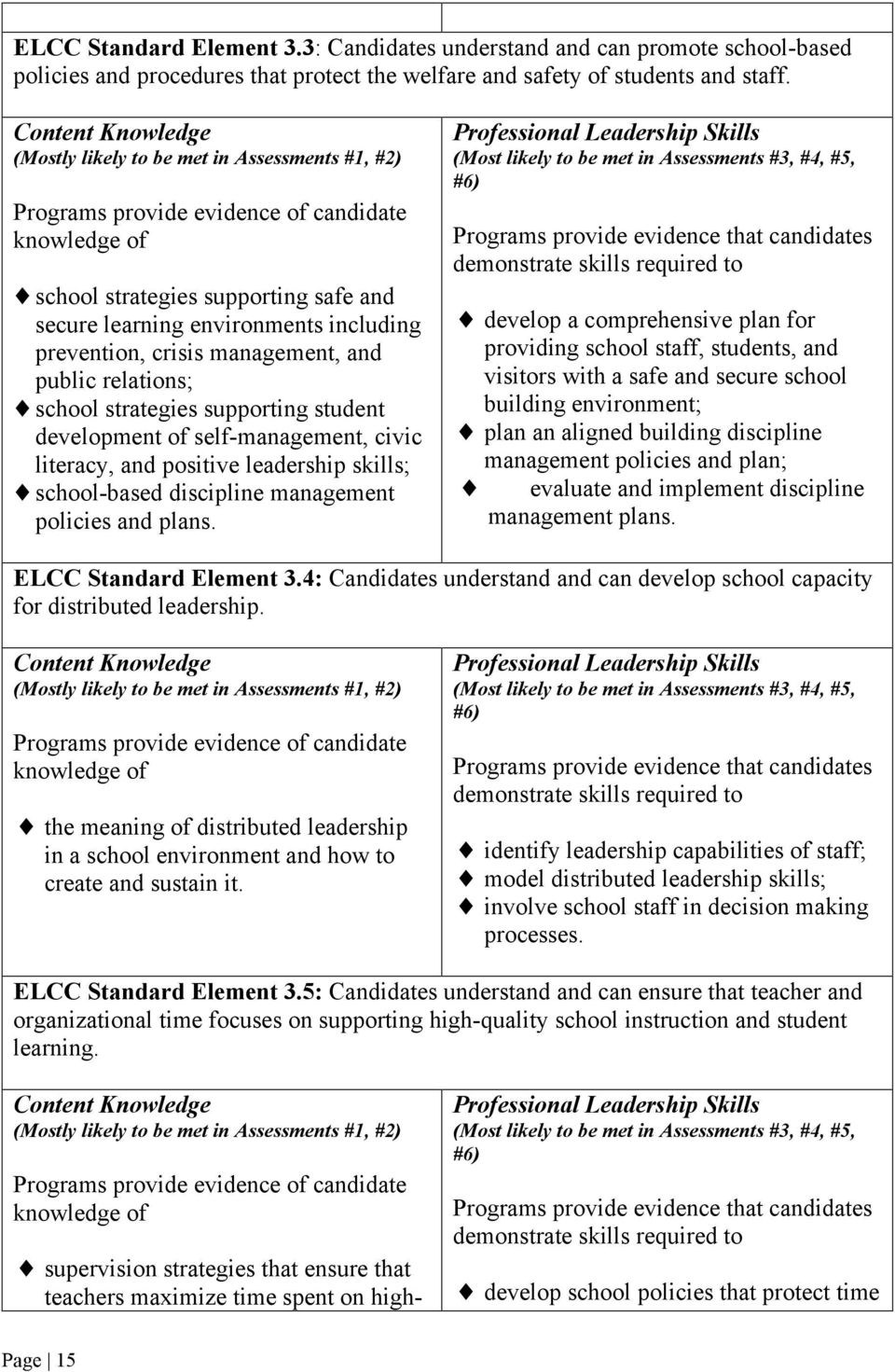 prevention, crisis management, and public relations; school strategies supporting student development of self-management, civic literacy, and positive leadership skills; school-based discipline