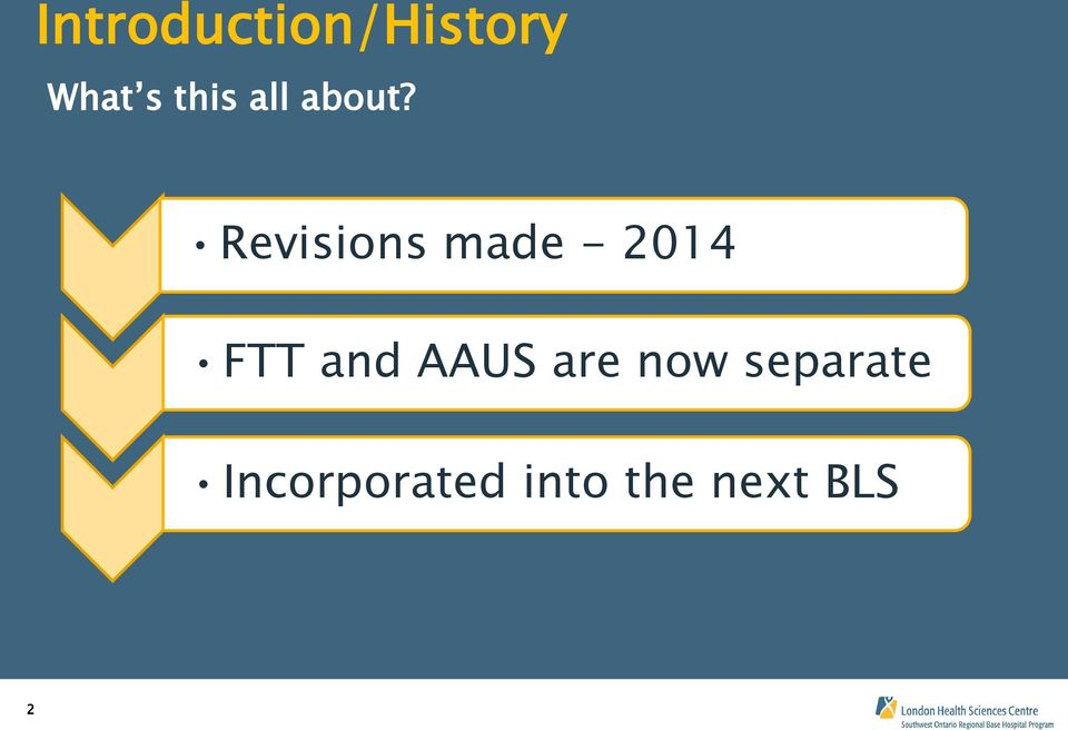 Revisions made - 2014 FTT and