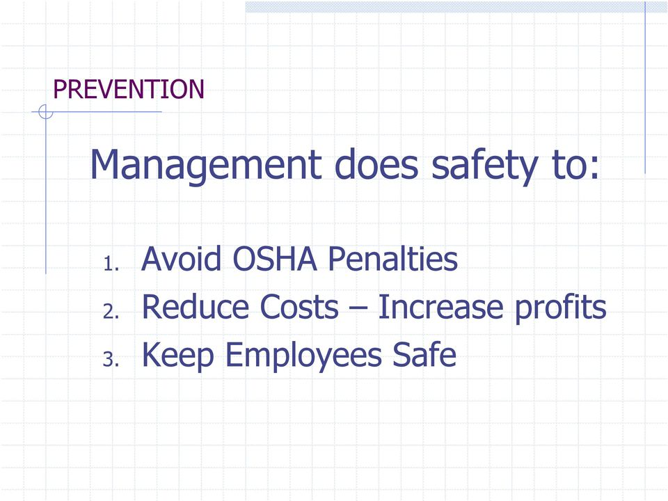 Avoid OSHA Penalties 2.