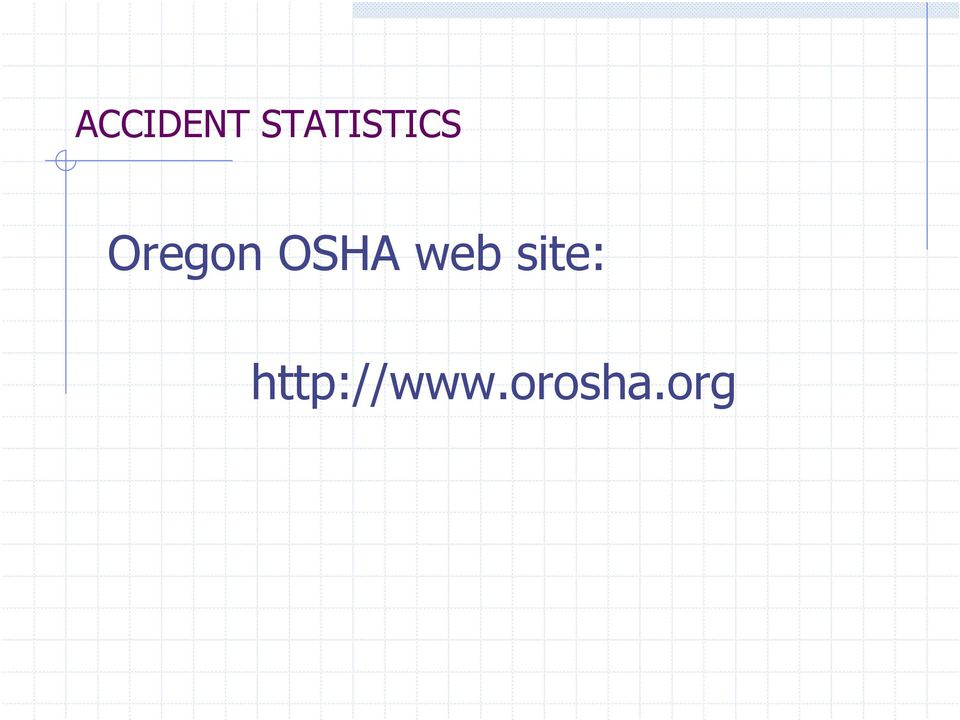 Oregon OSHA web