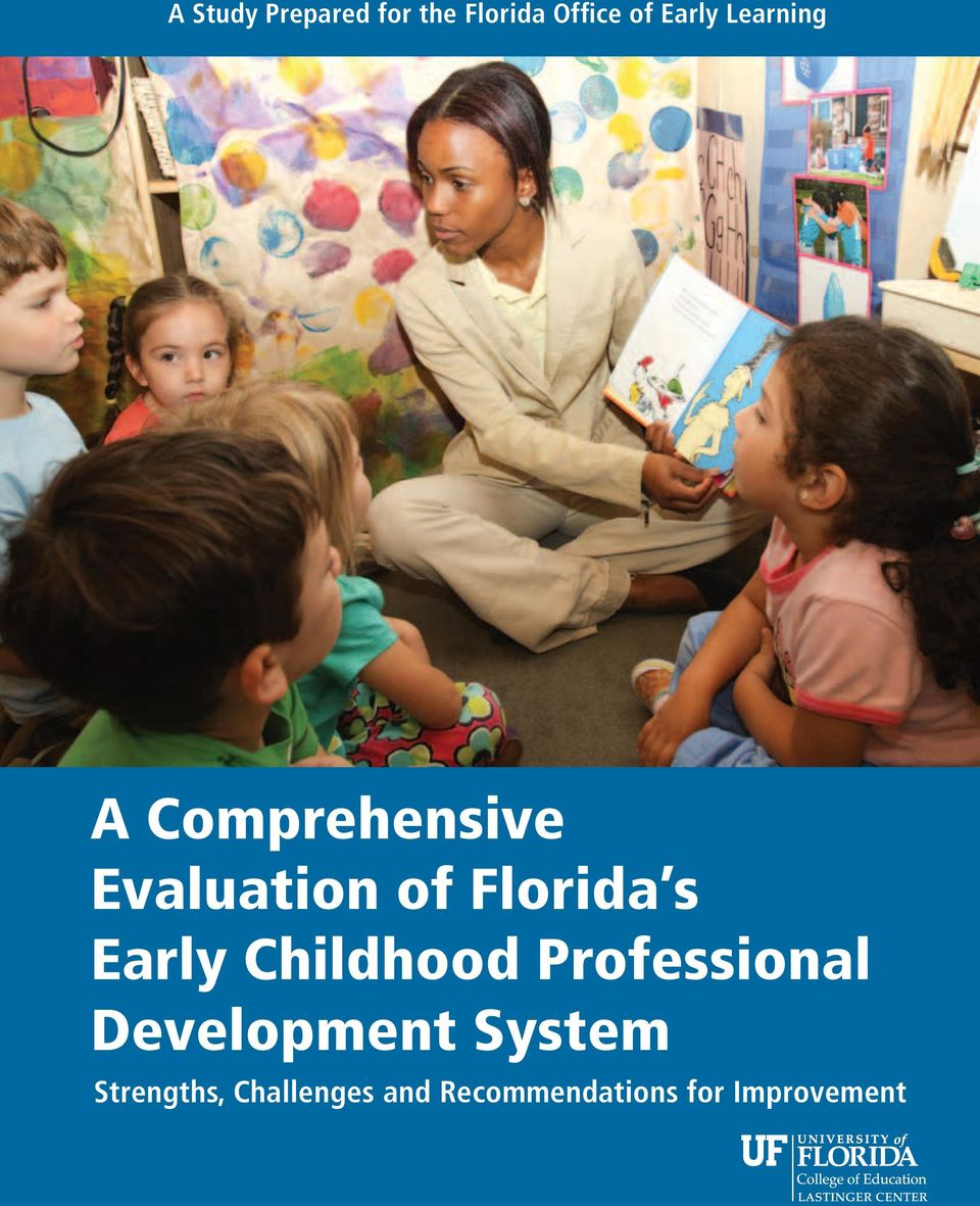 Early Childhood Professional Development System