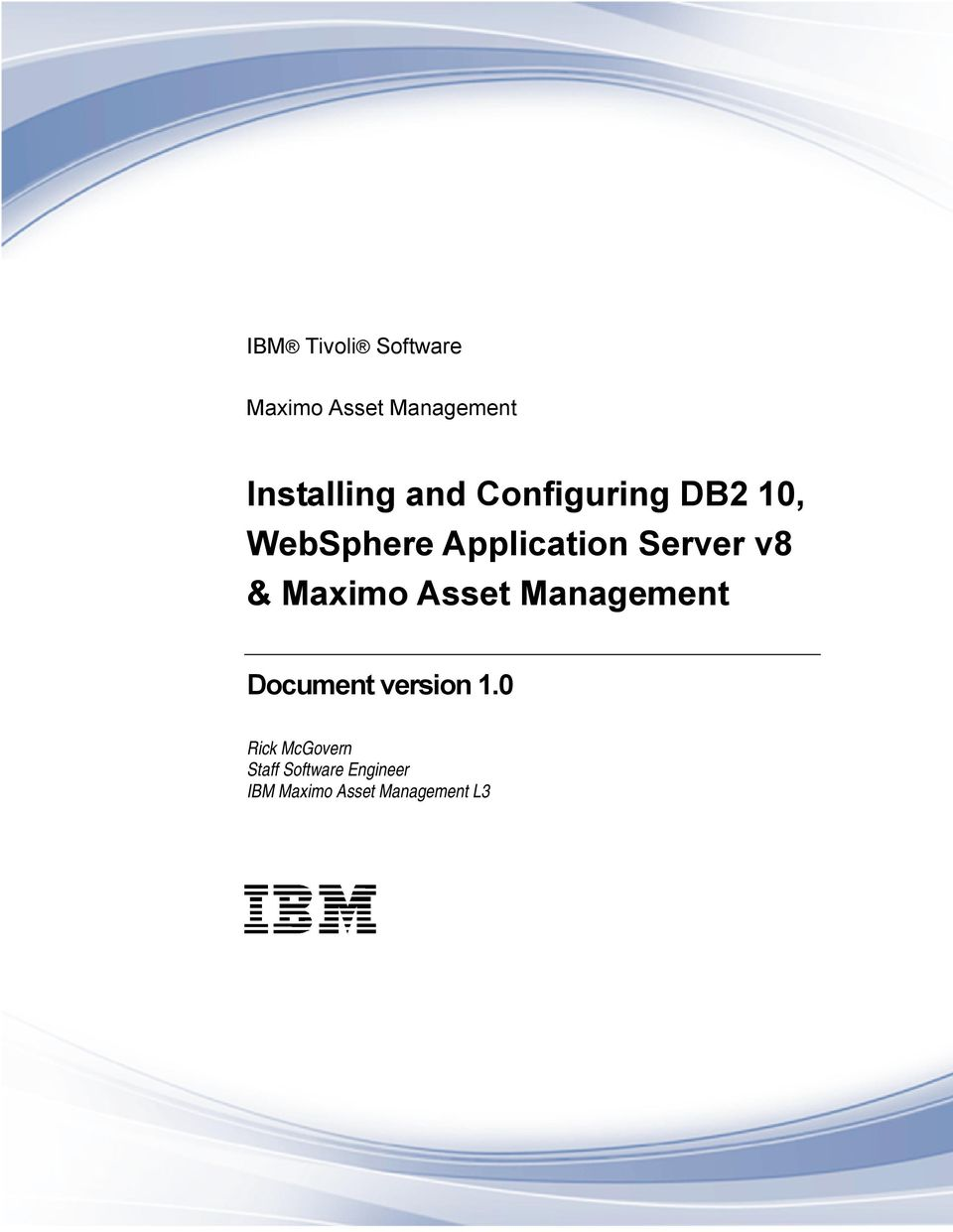 & Maximo Asset Management Document version 1.