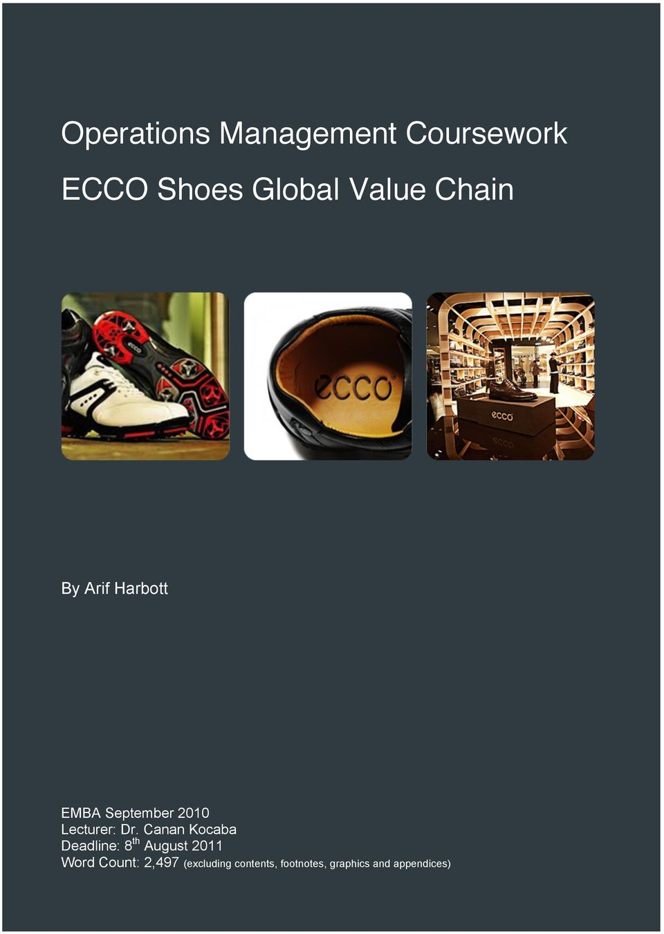 value management coursework Free supply chain management papers, essays, and research papers.