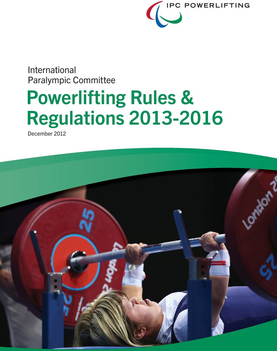 Powerlifting Rules &