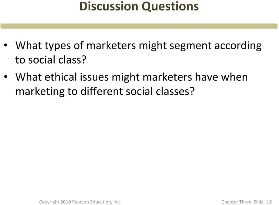 What ethical issues might marketers have when