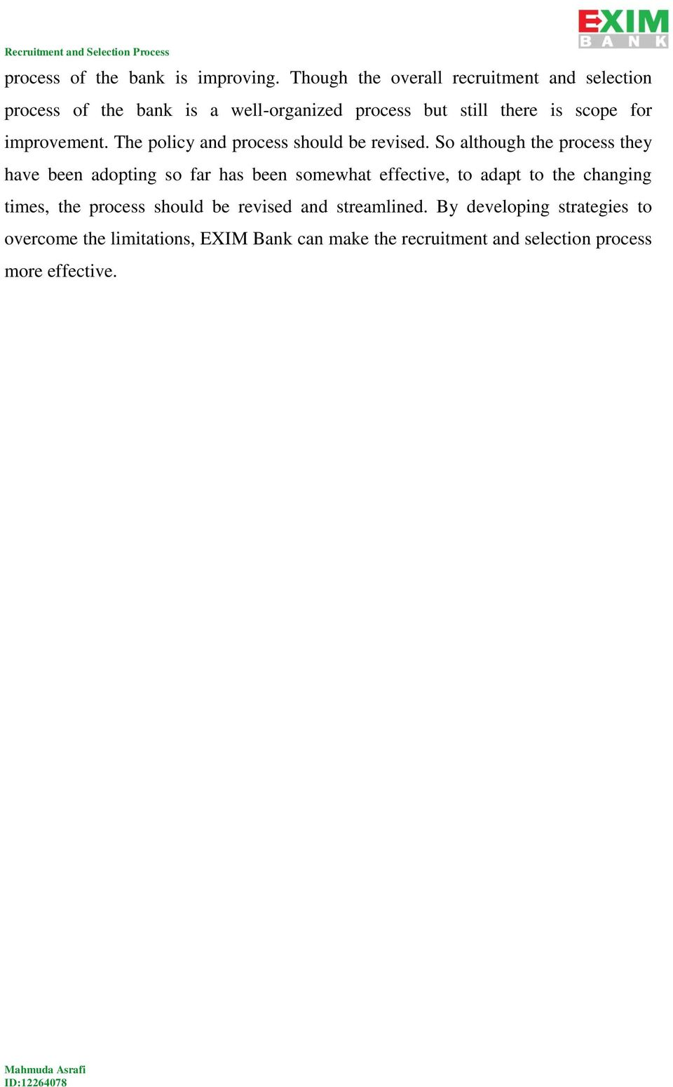 articles on recruitment and selection process pdf