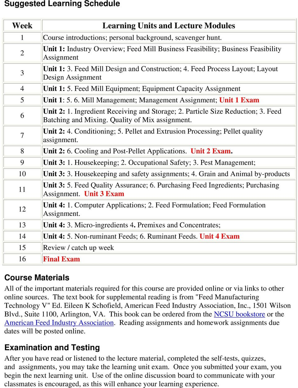feed mill manufacturing technology po ans 425 sec pdf feed process layout layout 3 design assignment 4 unit 1 5 feed mill