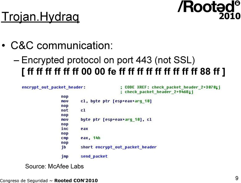 protocol on port 443 (not SSL) [ ff ff