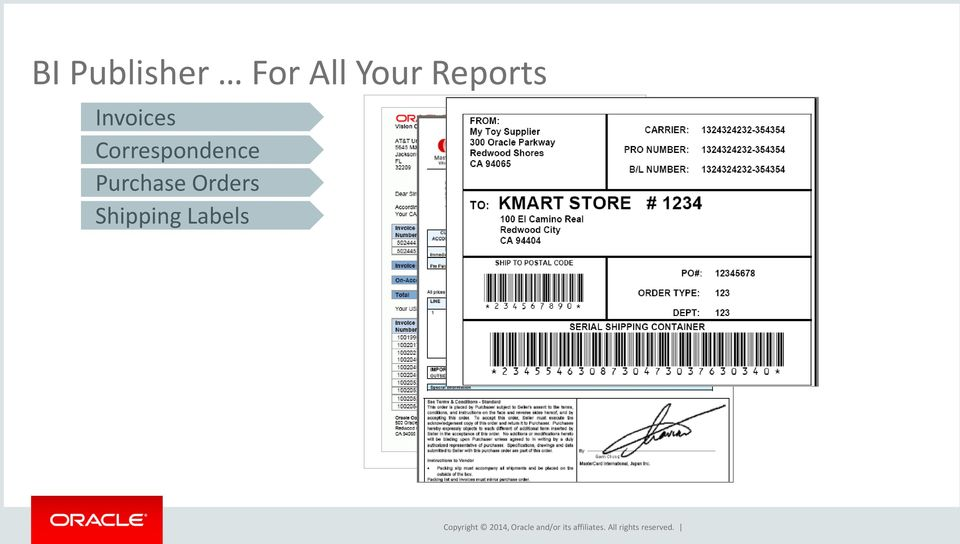 Oracle business intelligence publisher overview best for How to purchase a shipping label