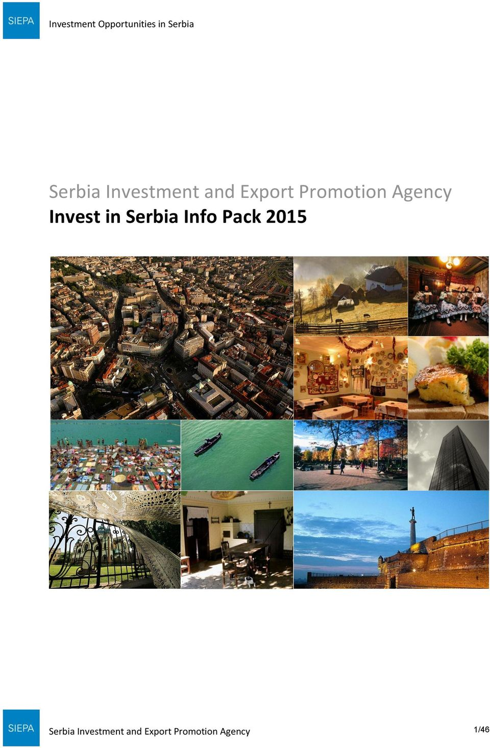 Serbia Info Pack 2015