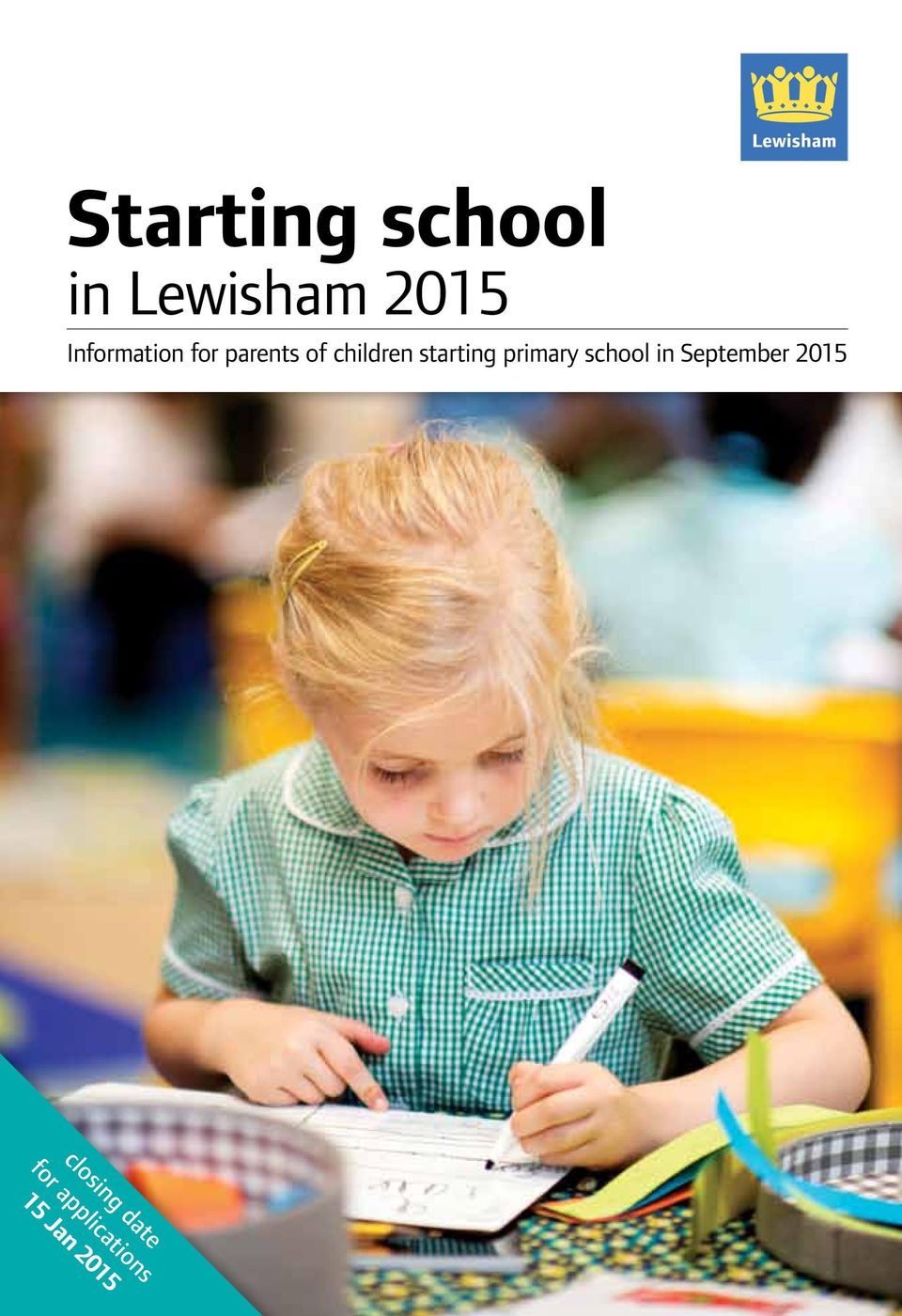 starting primary school in September