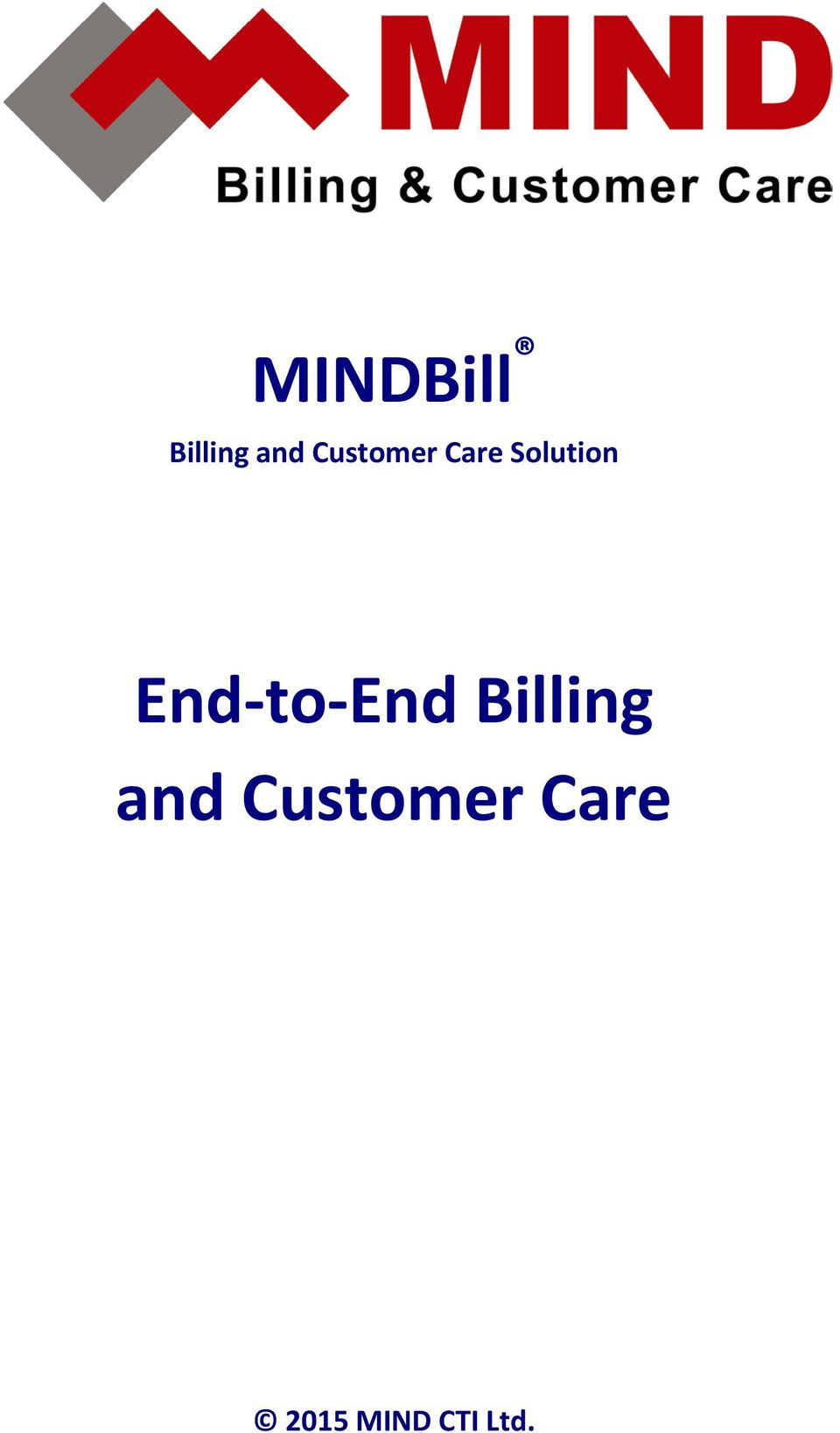 End-to-End Billing and