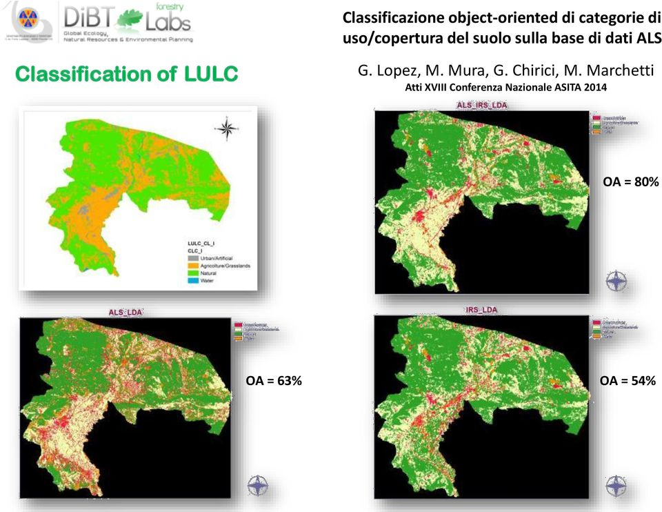 Classification of LULC G. Lopez, M. Mura, G. Chirici, M.