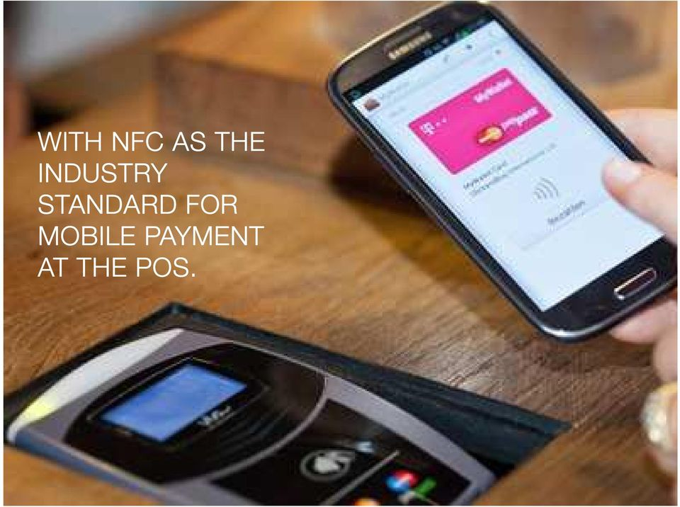 FOR MOBILE PAYMENT