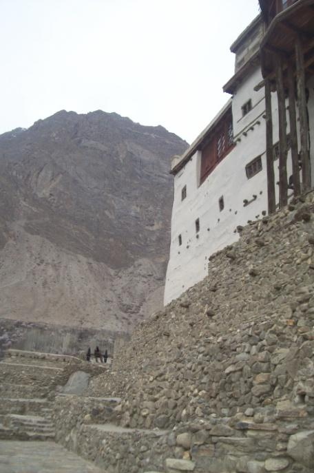 Figure 22: Views of Baltit Fort, Hunza Archaeological Heritage Important archaeological sites include cave paintings, megalithic stone circles, and Buddhist stupas and monasteries numerous ancient