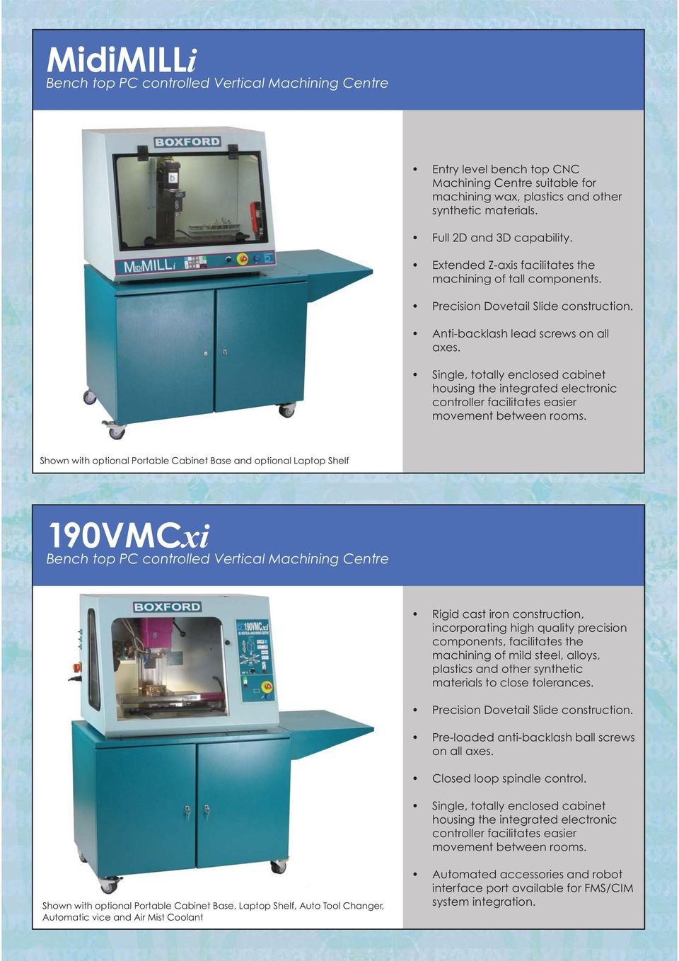 Centre 190VMCxi Bench top PC