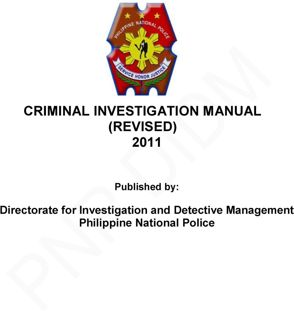 Directorate for Investigation and