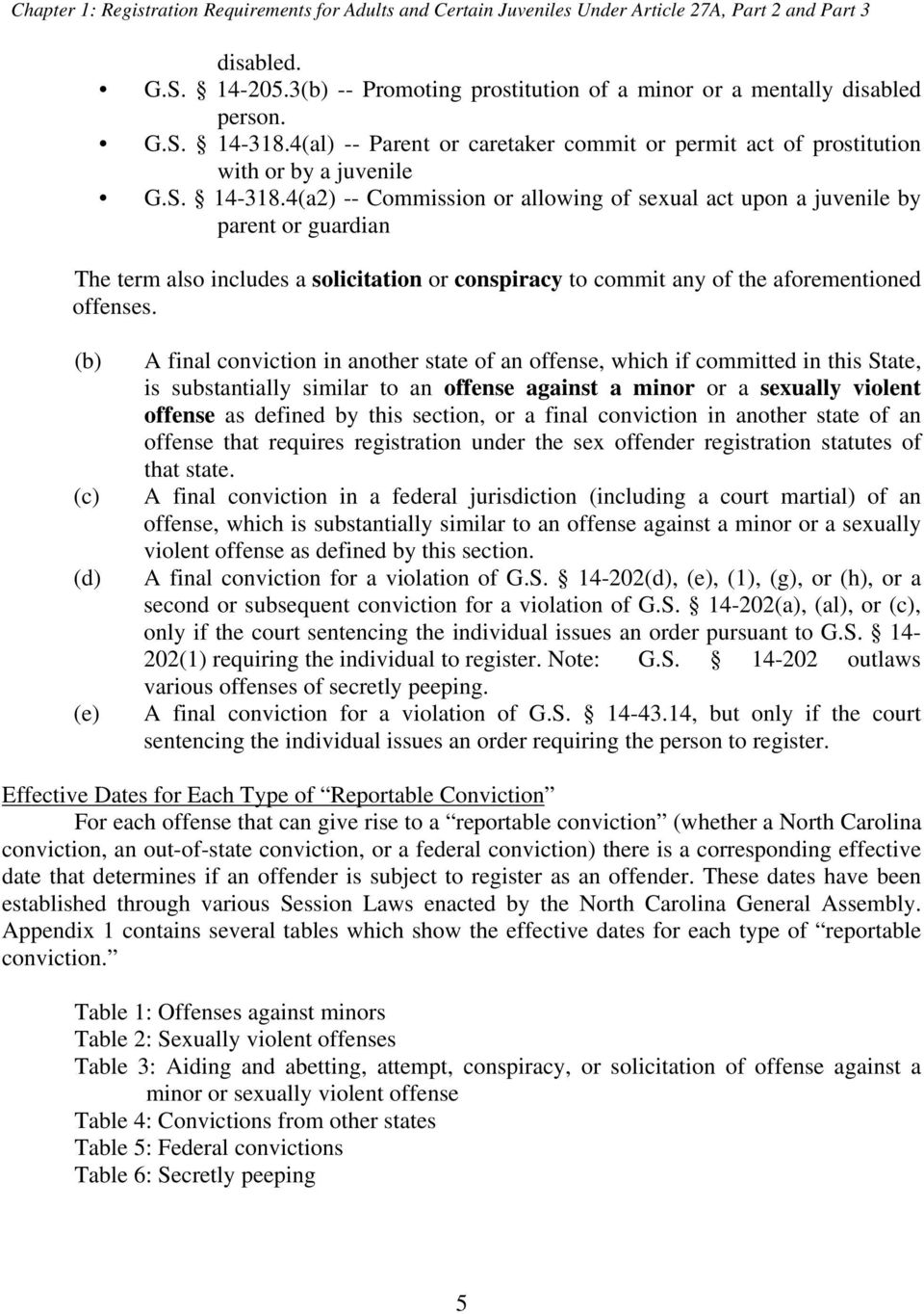 4(al) -- Parent or caretaker commit or permit act of prostitution with or by a juvenile G.S. 14-318.