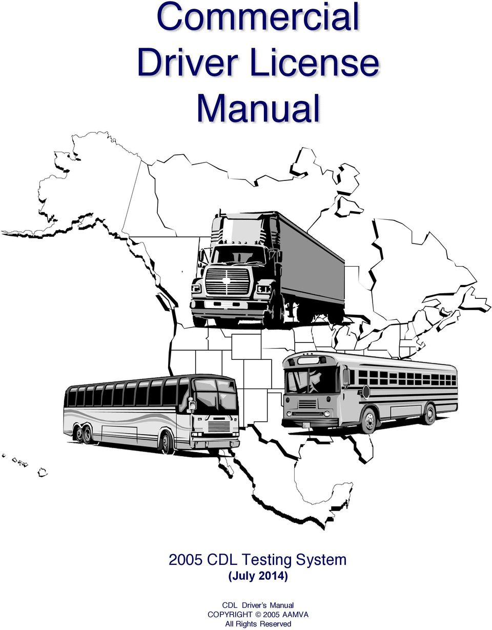 2014) CDL Driver s Manual