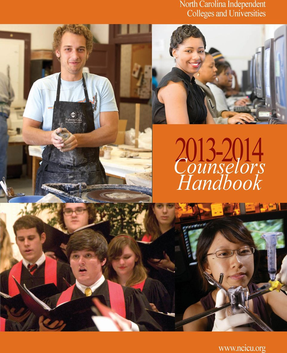 2012-2013 Counselors Handbook  Universities www.