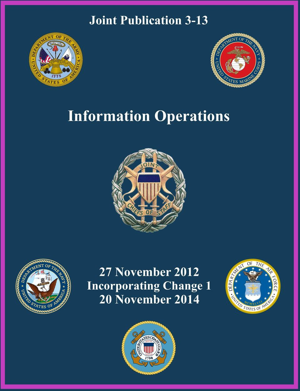 F O A AME RI C Information Operations 27