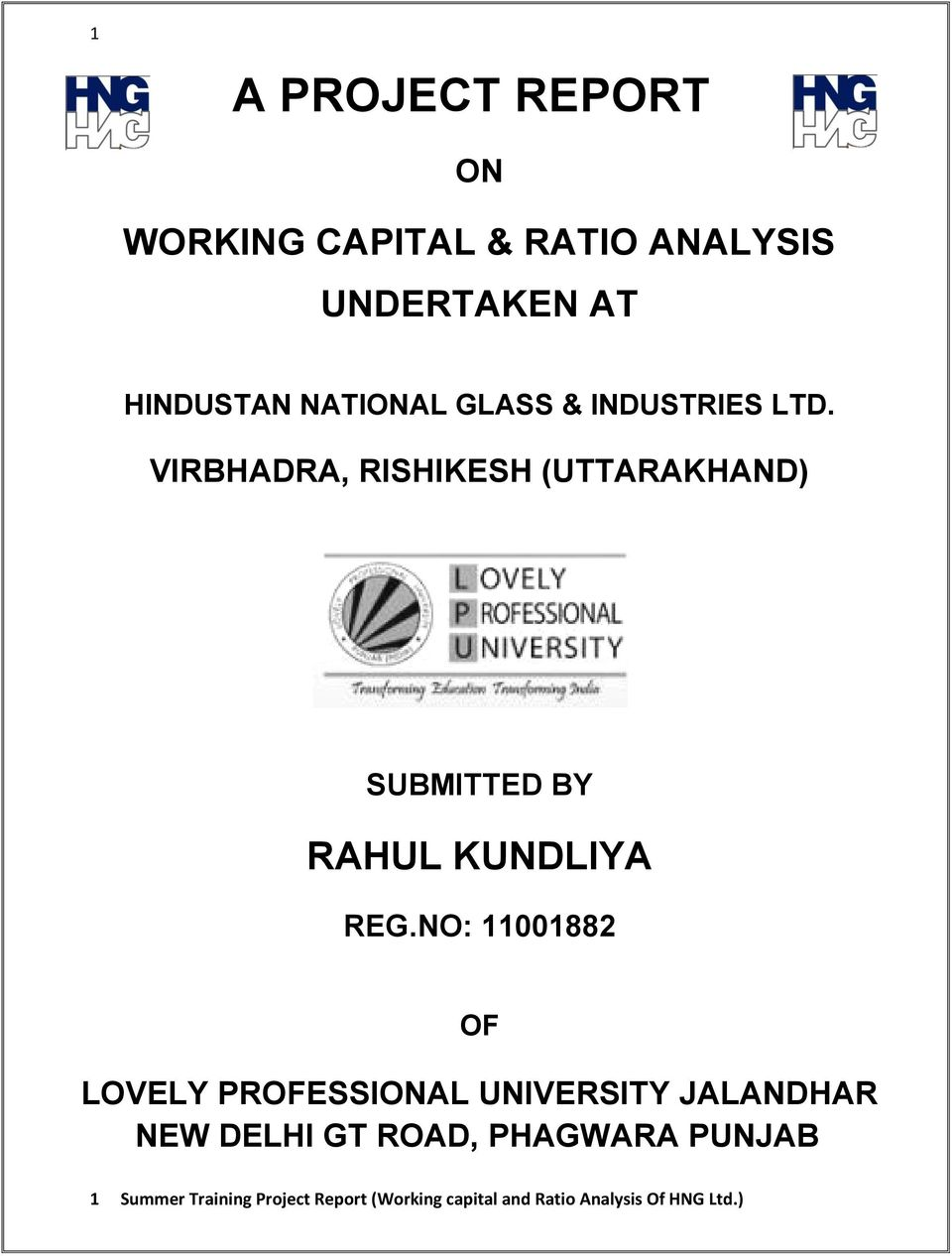 managing working capital final essay Impact of working capital management in the profitability of hindalco industries limited j p singh and shishir pandey for the successful working of any business organization, fixed and current assets play a vital role.
