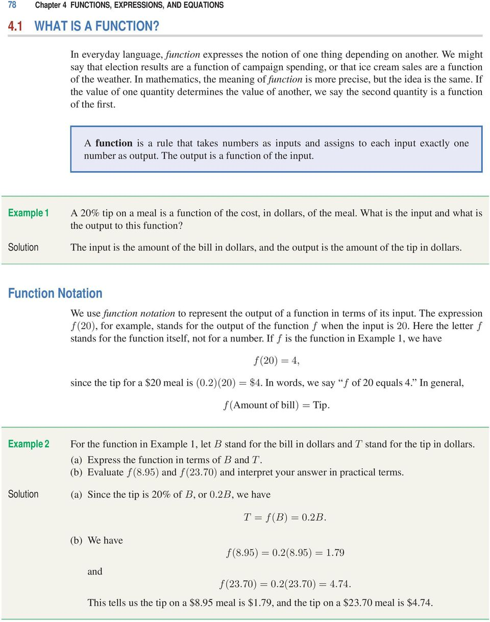 worksheet Function Notation Worksheet With Answers functions expressions and equations pdf in mathematics the meaning of function is more precise but idea the