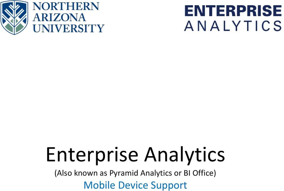 Analytics or BI
