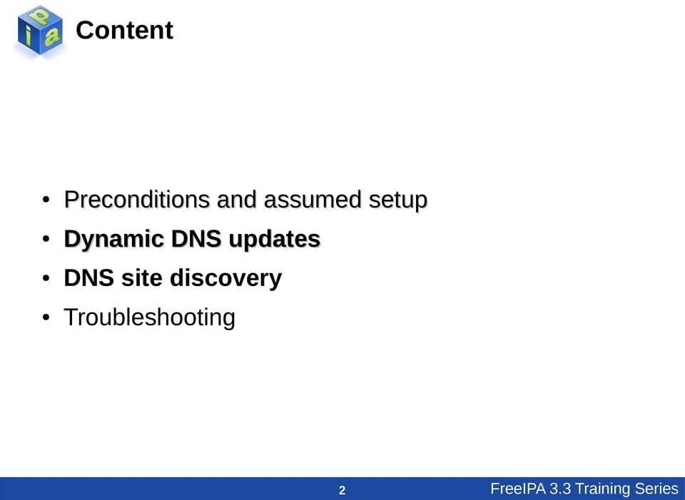 updates DNS site discovery