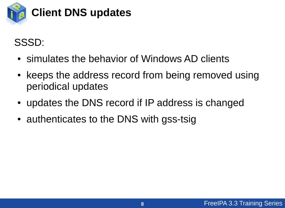 periodical updates updates the DNS record if IP address is