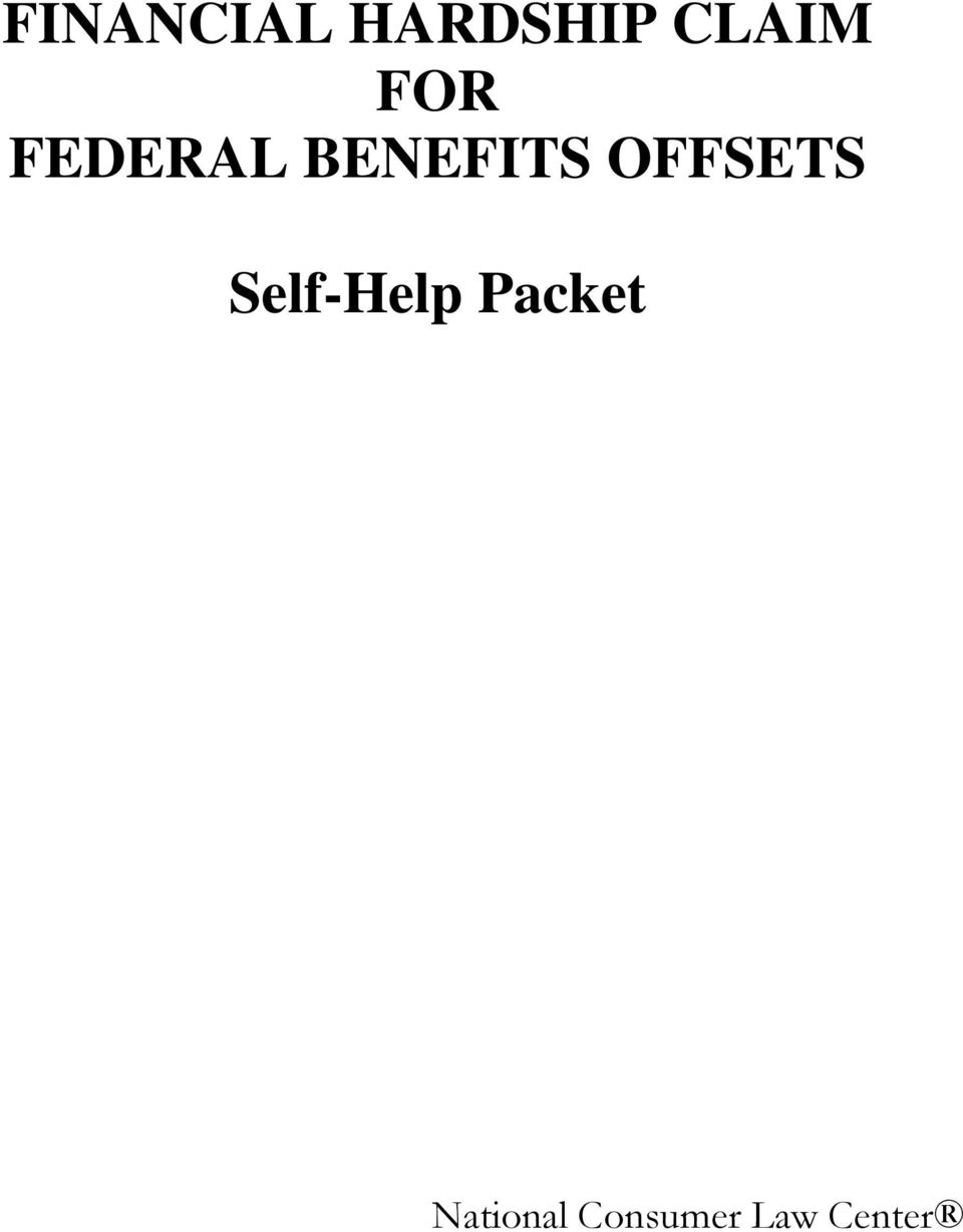 OFFSETS Self-Help Packet
