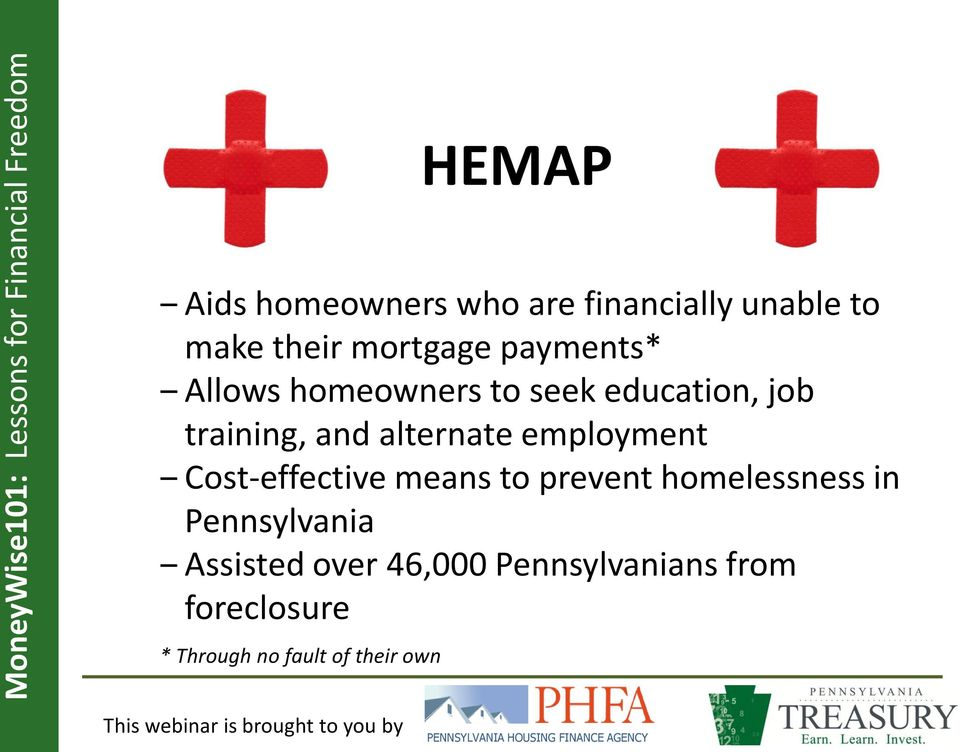 employment Cost-effective means to prevent homelessness in Pennsylvania