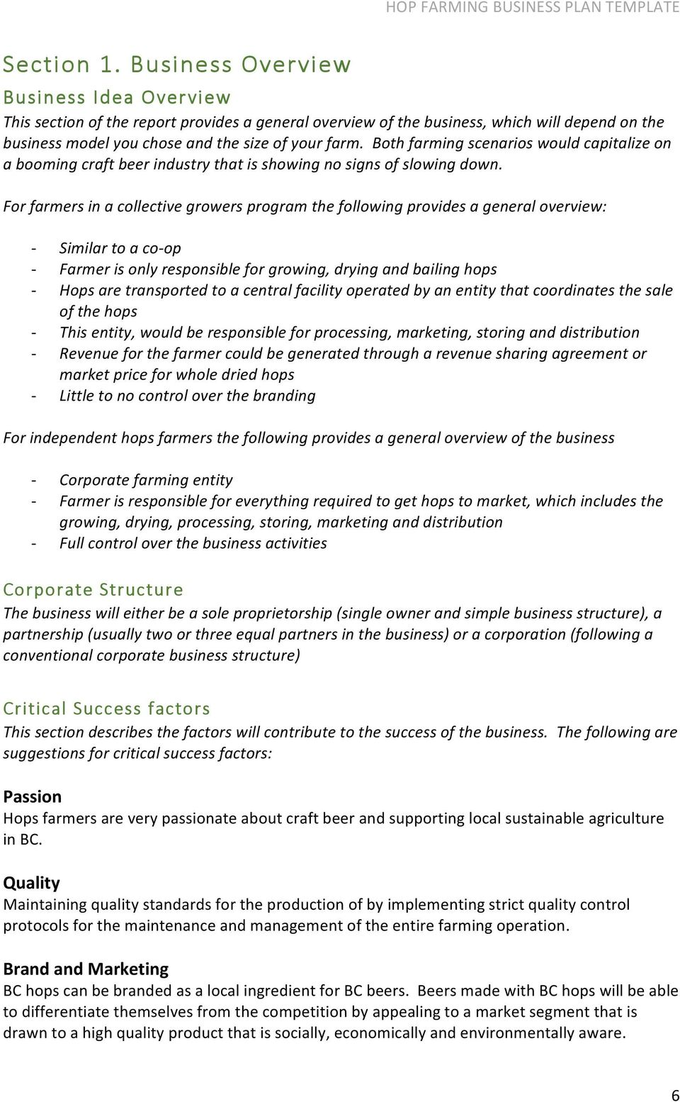 Corporate business plan sample genxeg professional business technical report hop farming business plan template pdf corporate business plan template cheaphphosting Images