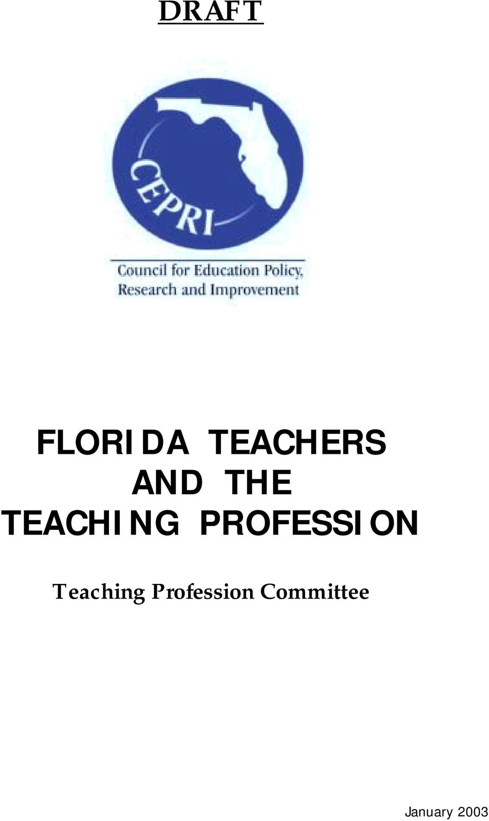 PROFESSION Teaching