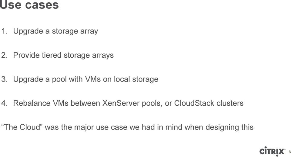 Upgrade a pool with VMs on local storage 4.