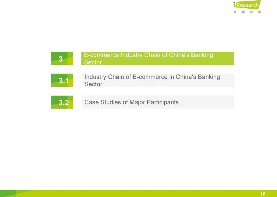 Banking Sector Industry Chain of