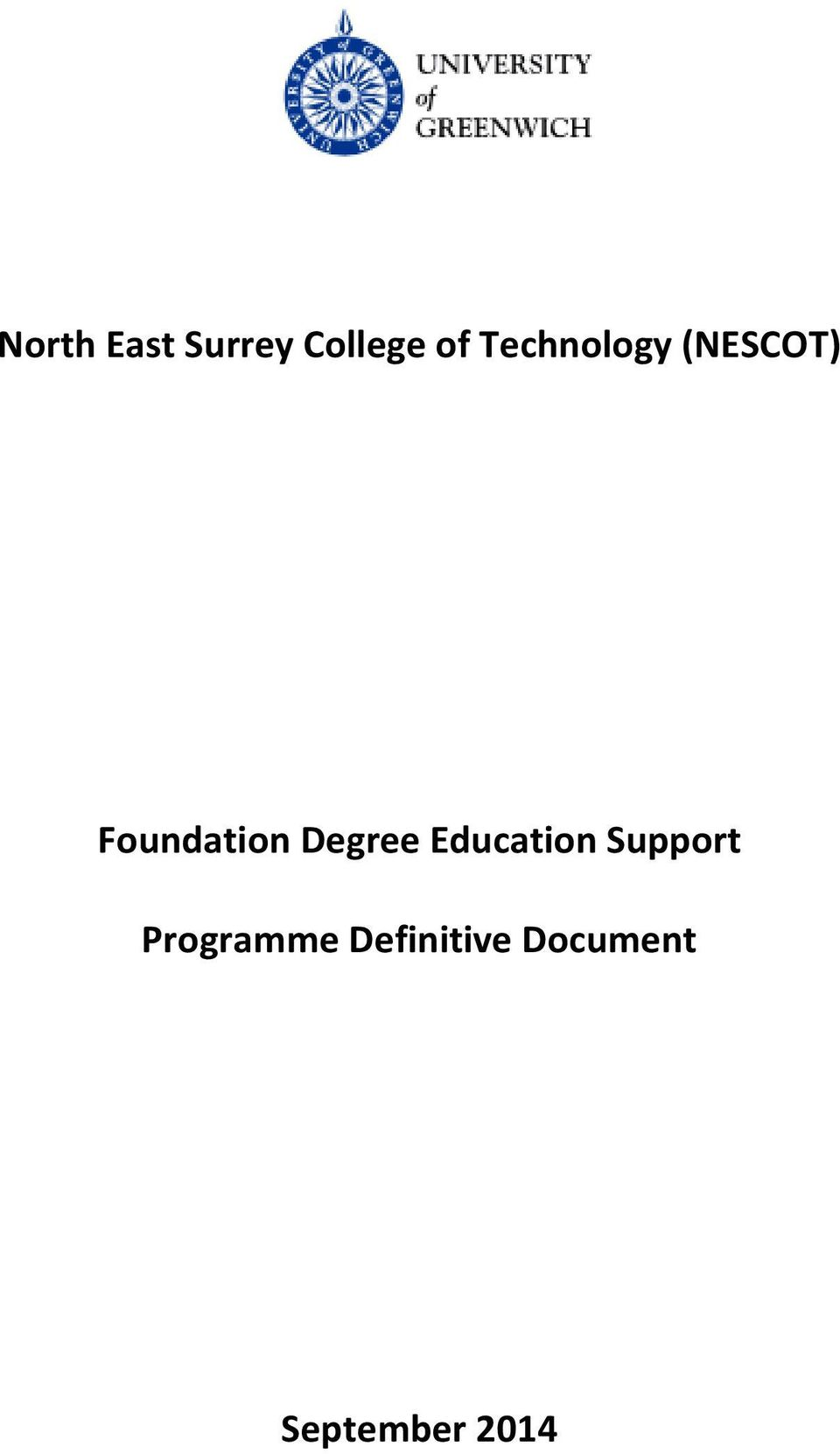 Degree Education Support