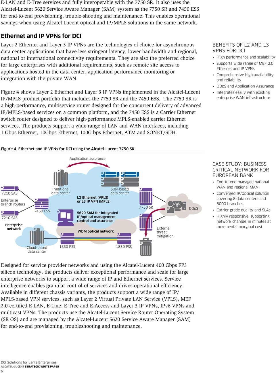 This enables operational savings when using Alcatel-Lucent optical and IP/MPLS solutions in the same network.