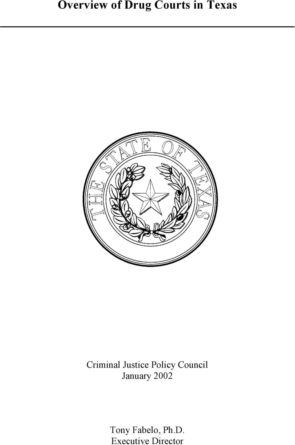 Policy Council January 2002