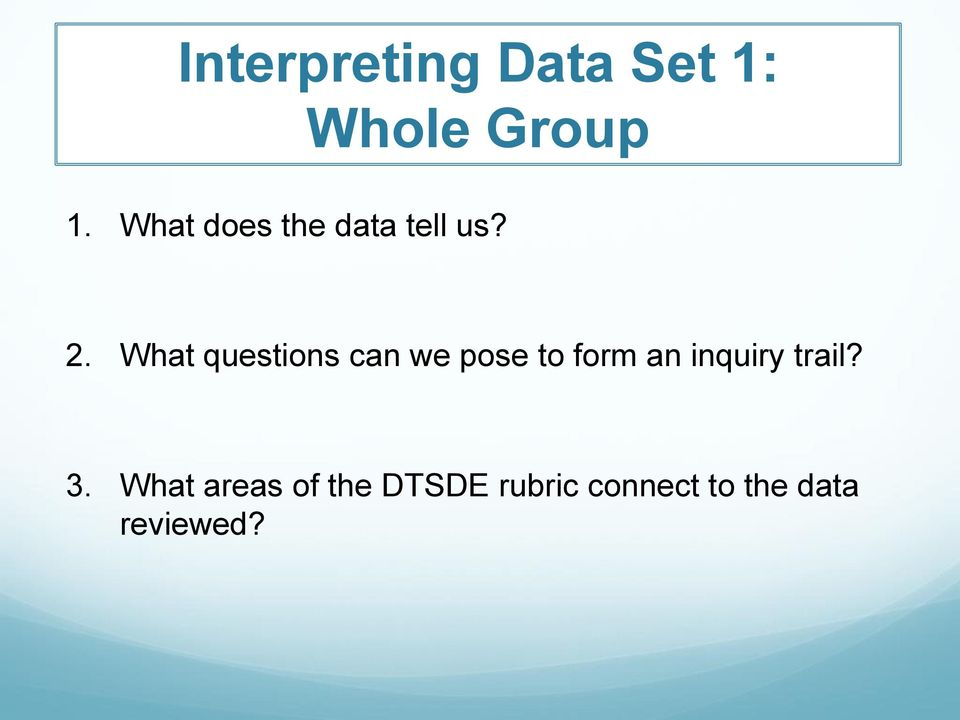 What questions can we pose to form an inquiry