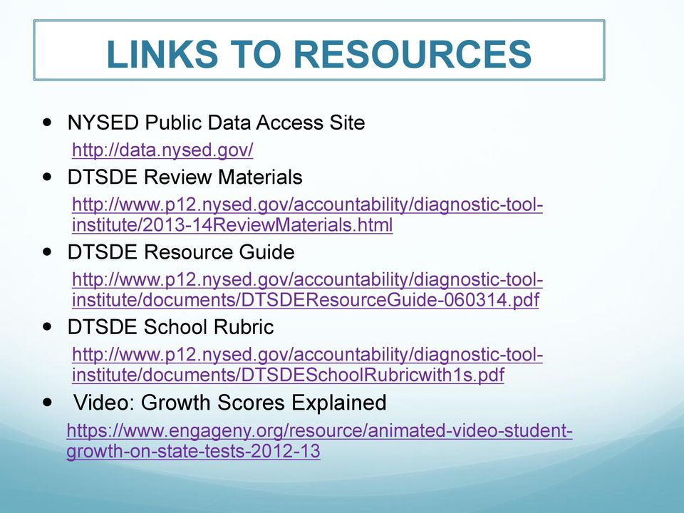 pdf DTSDE School Rubric http://www.p12.nysed.gov/accountability/diagnostic-toolinstitute/documents/dtsdeschoolrubricwith1s.