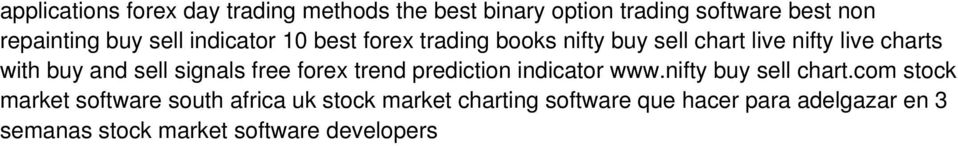 signals free forex trend prediction indicator www.nifty buy sell chart.
